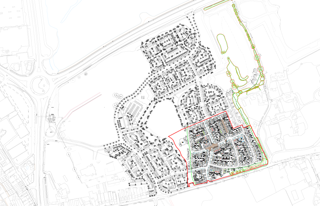 Shopwyke proposed siteplan