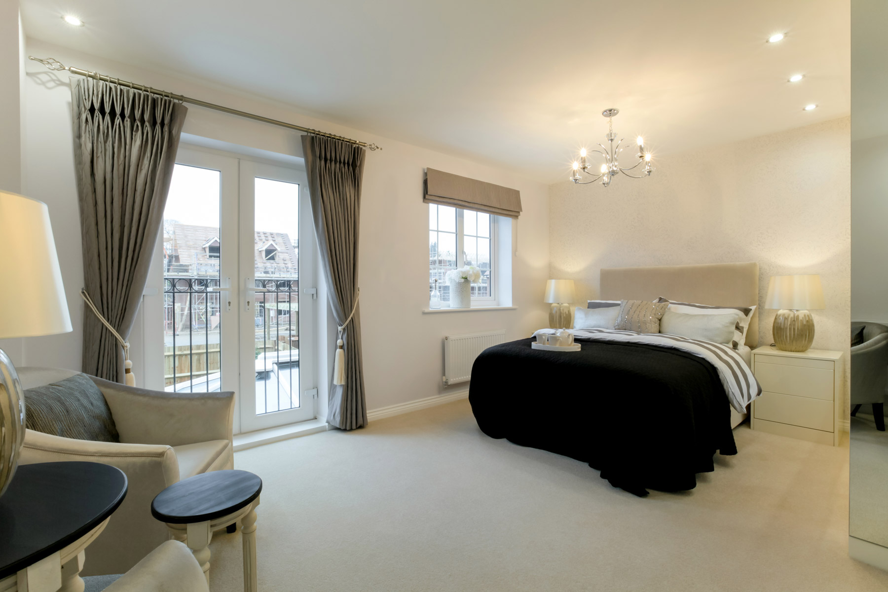 Typical Belbury bedroom