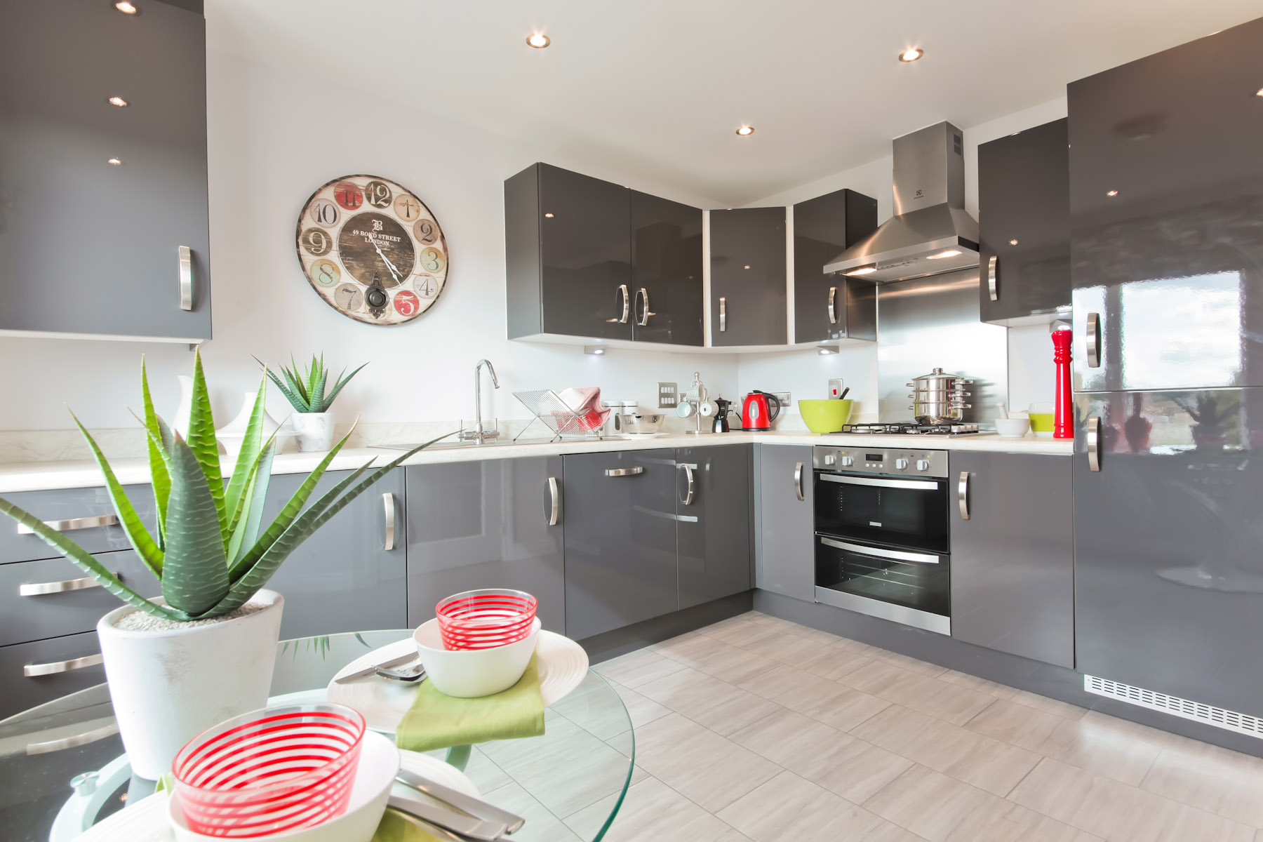 Cherry Tree Gardens Flatford example kitchen