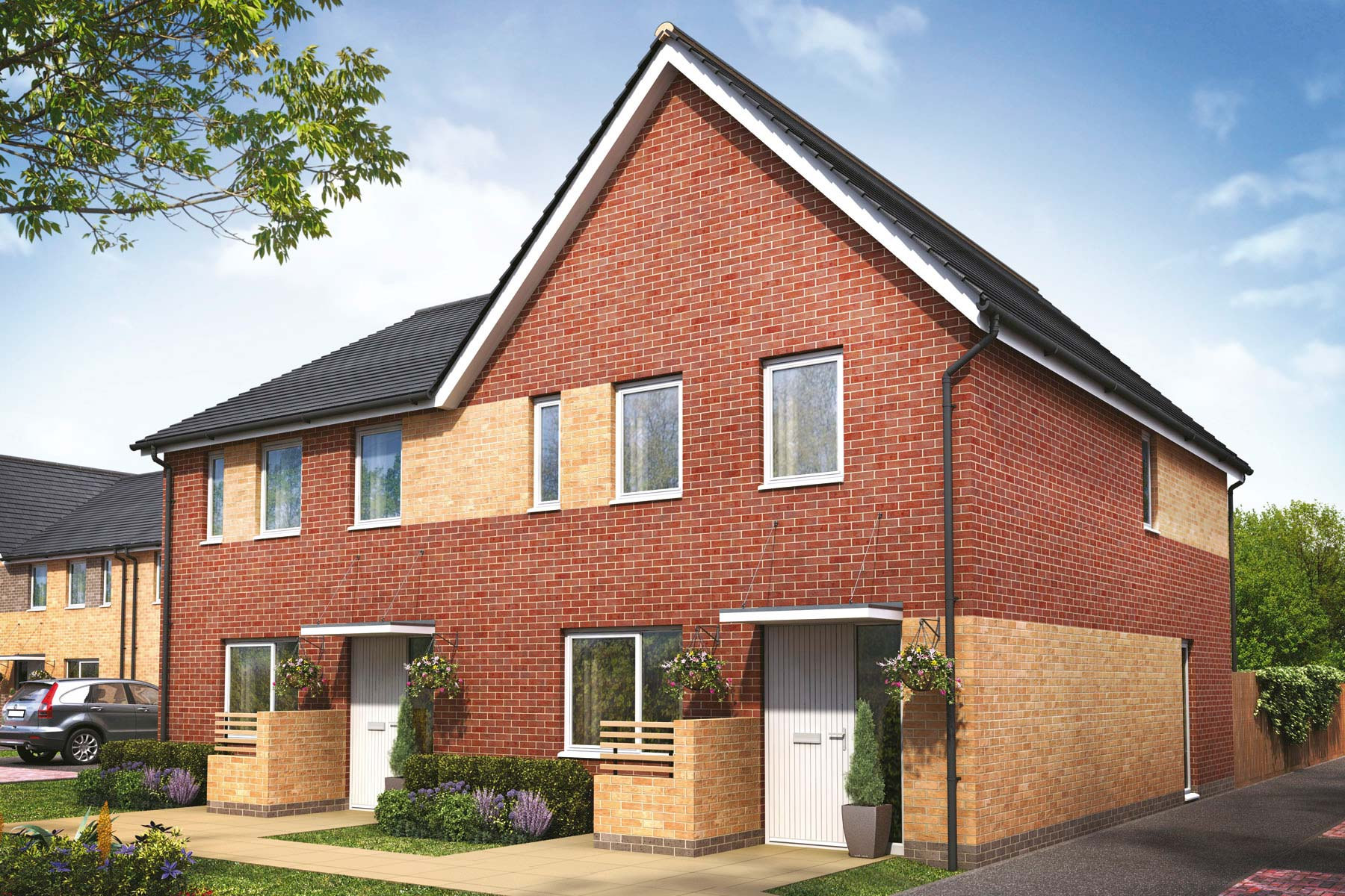 Artists impression of a typical Kempsford home
