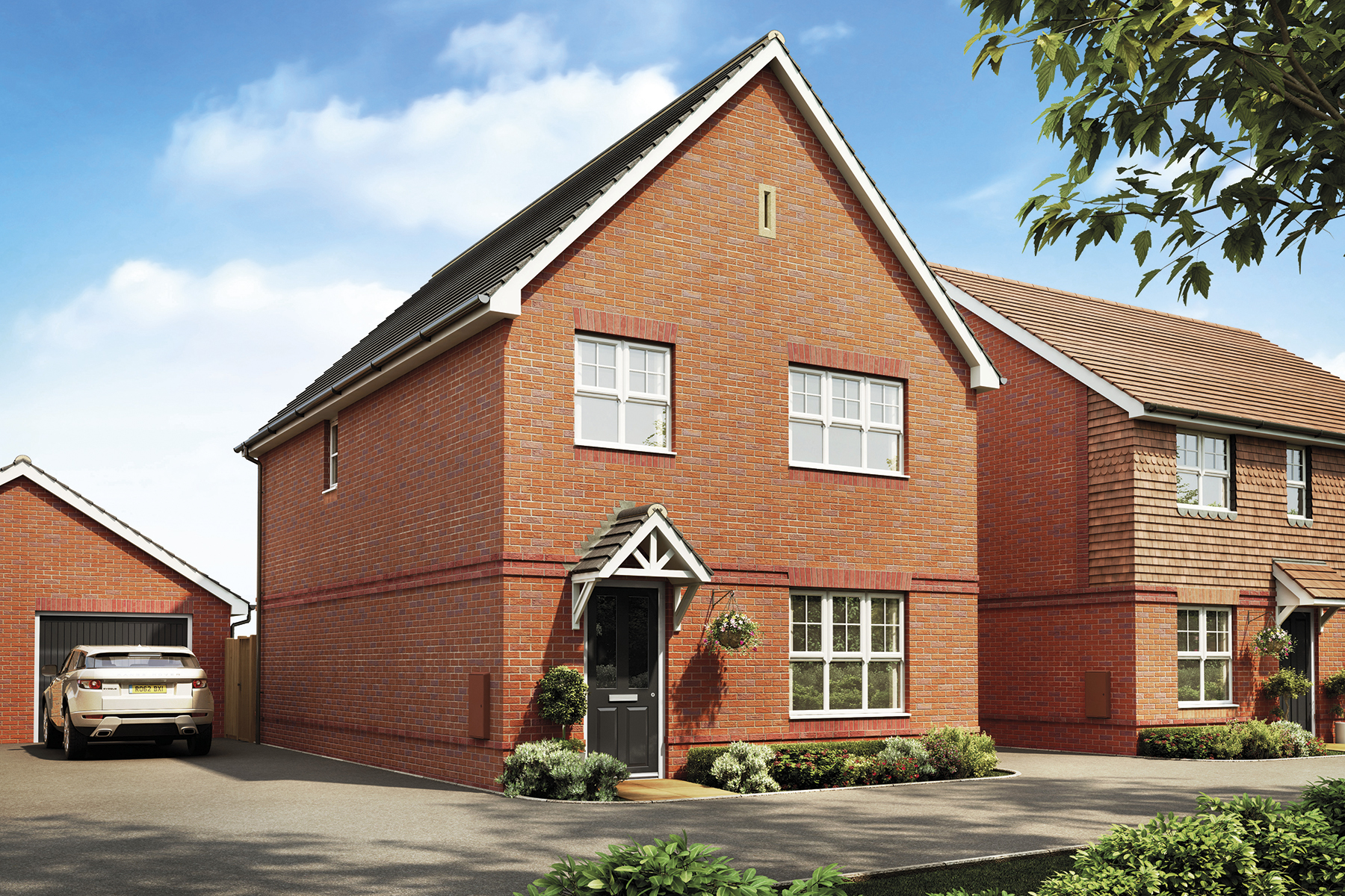 Artists impression of a typical Midford home