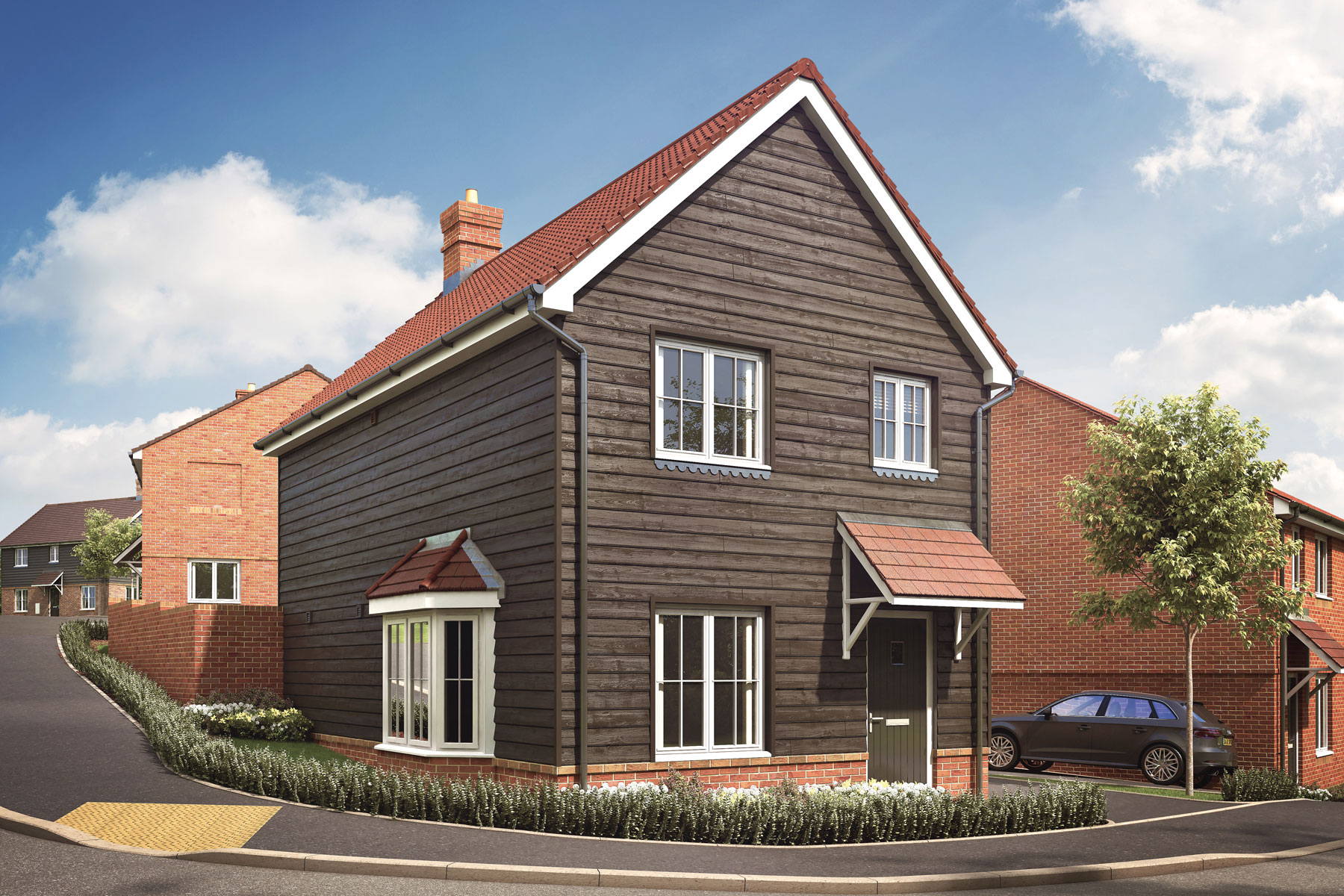 Artist's impression of a typical Mountbatten home