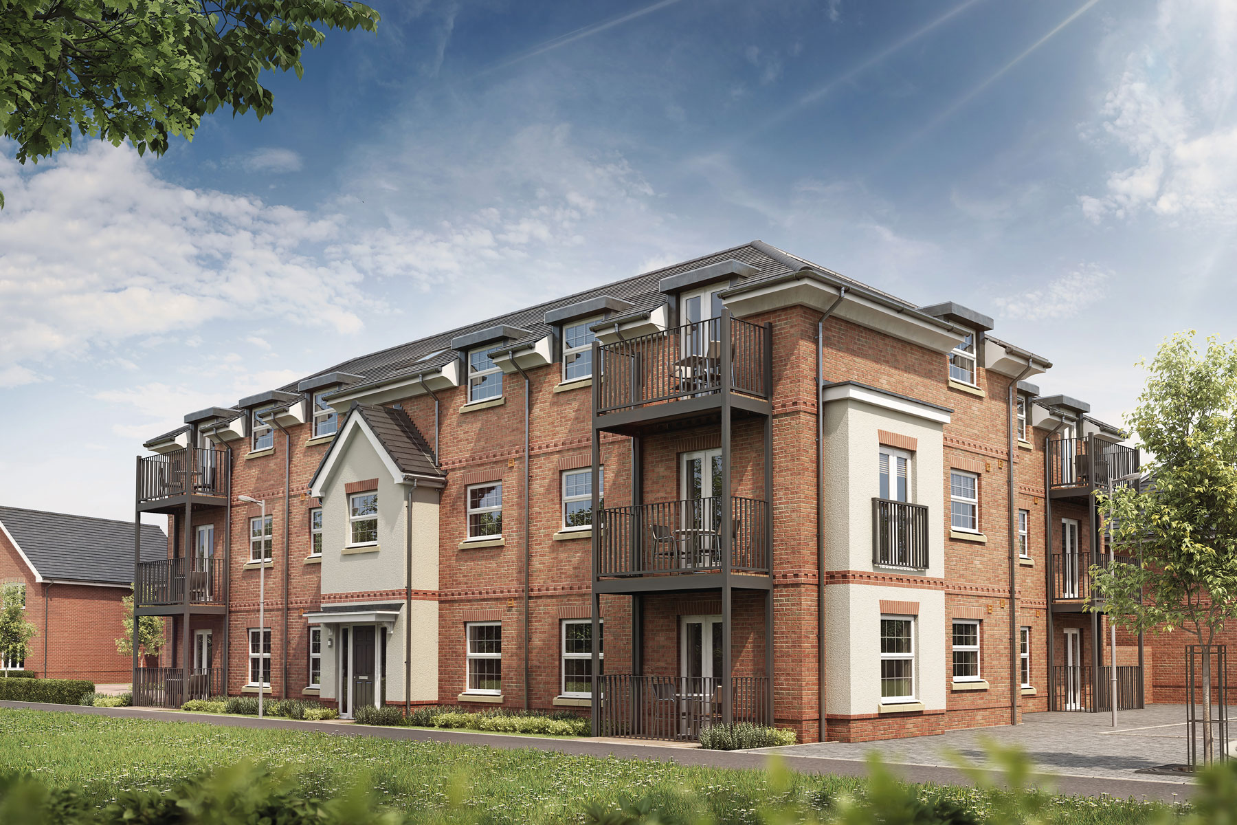 Artist's impression of Elm Court