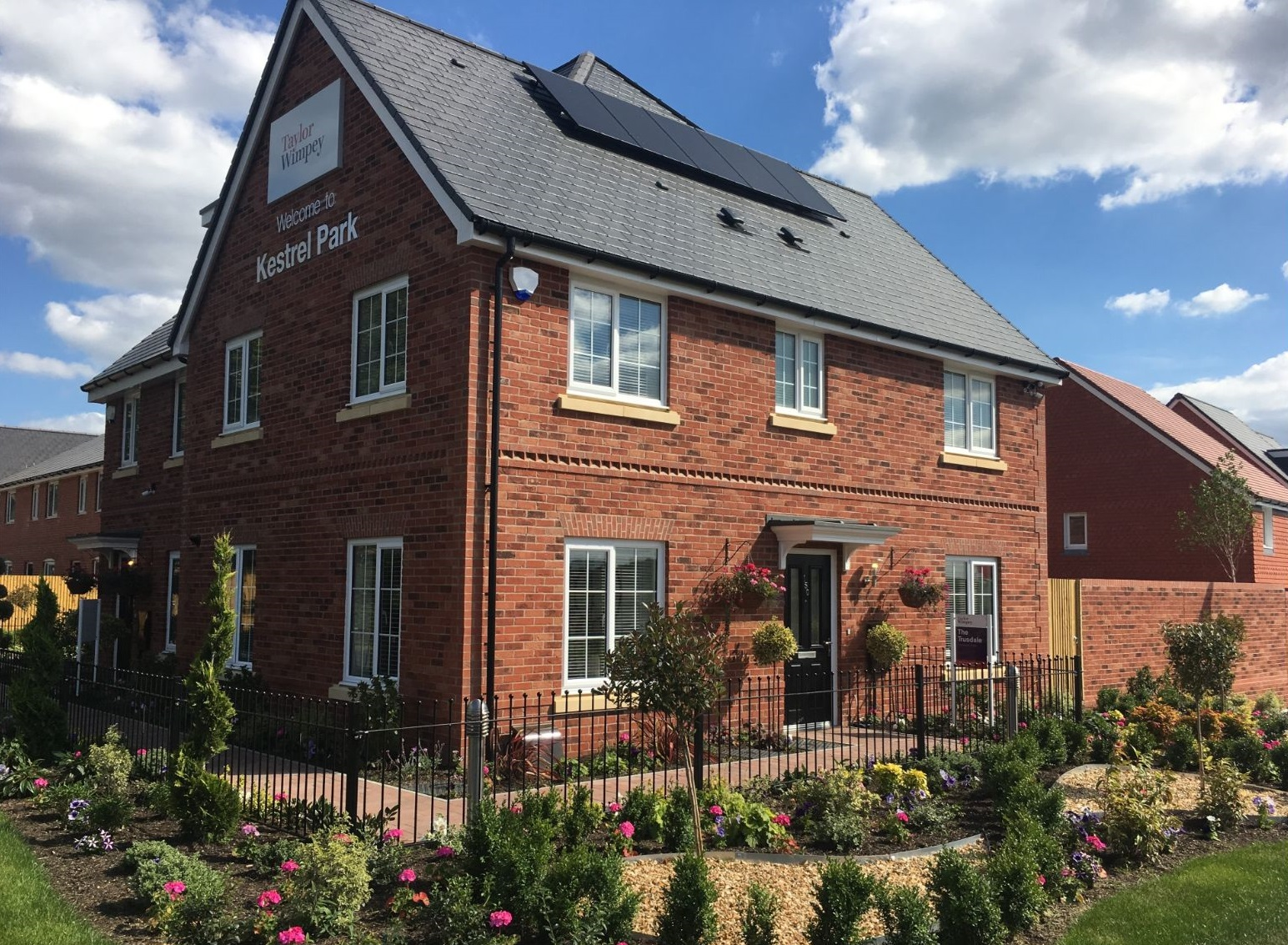 Exterior of Trusdale show home