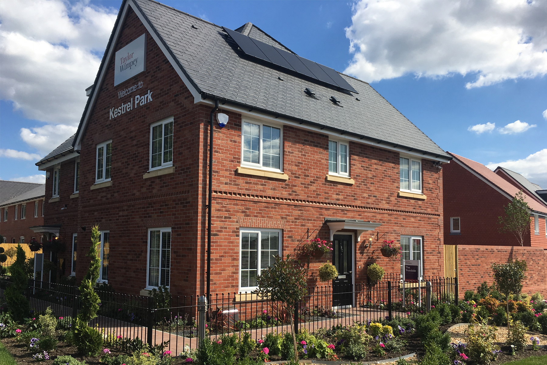 Typical Trusdale home.  Image of Trusdale show home at Kestrel Park