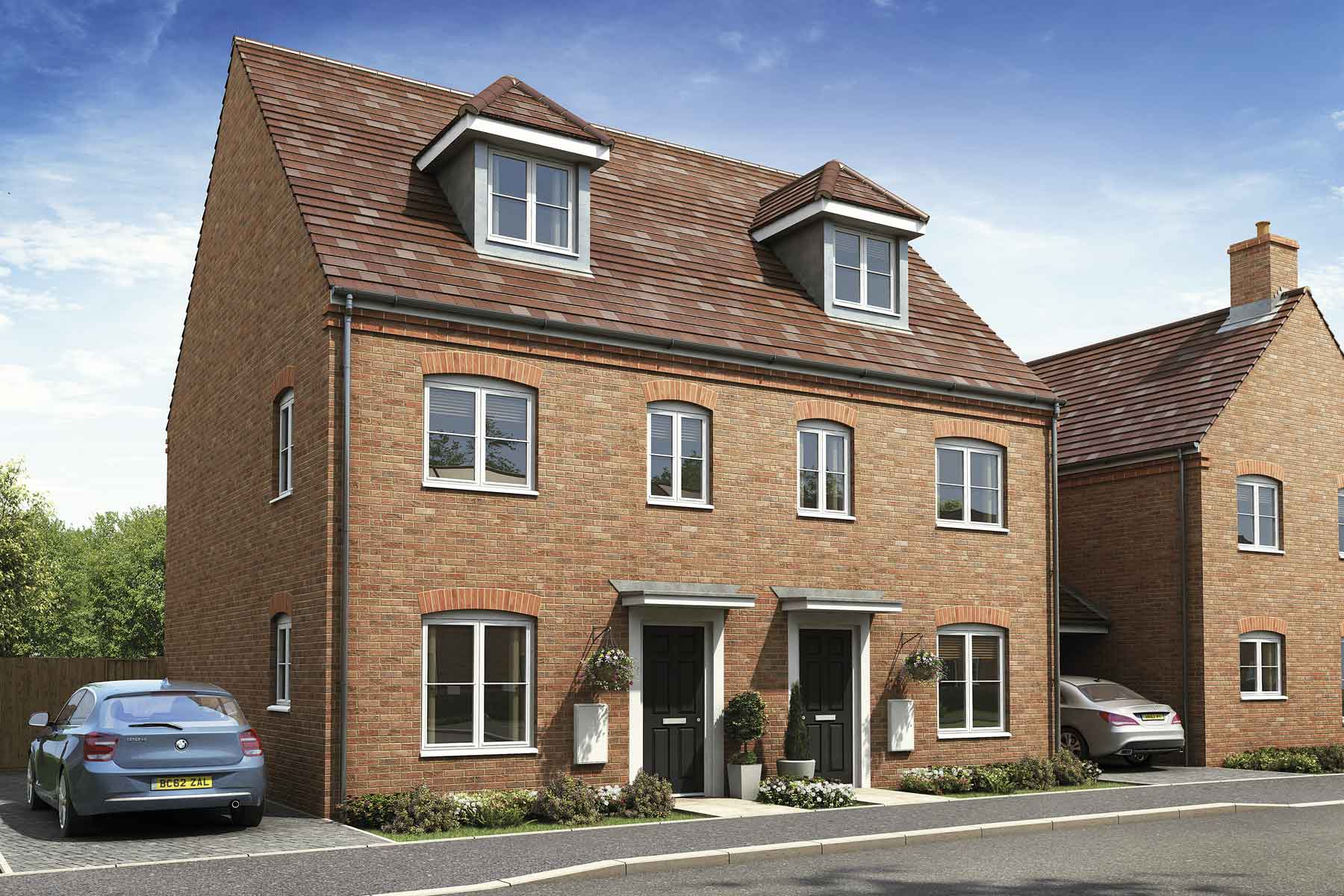 Artist's impression of a typical Crofton G home