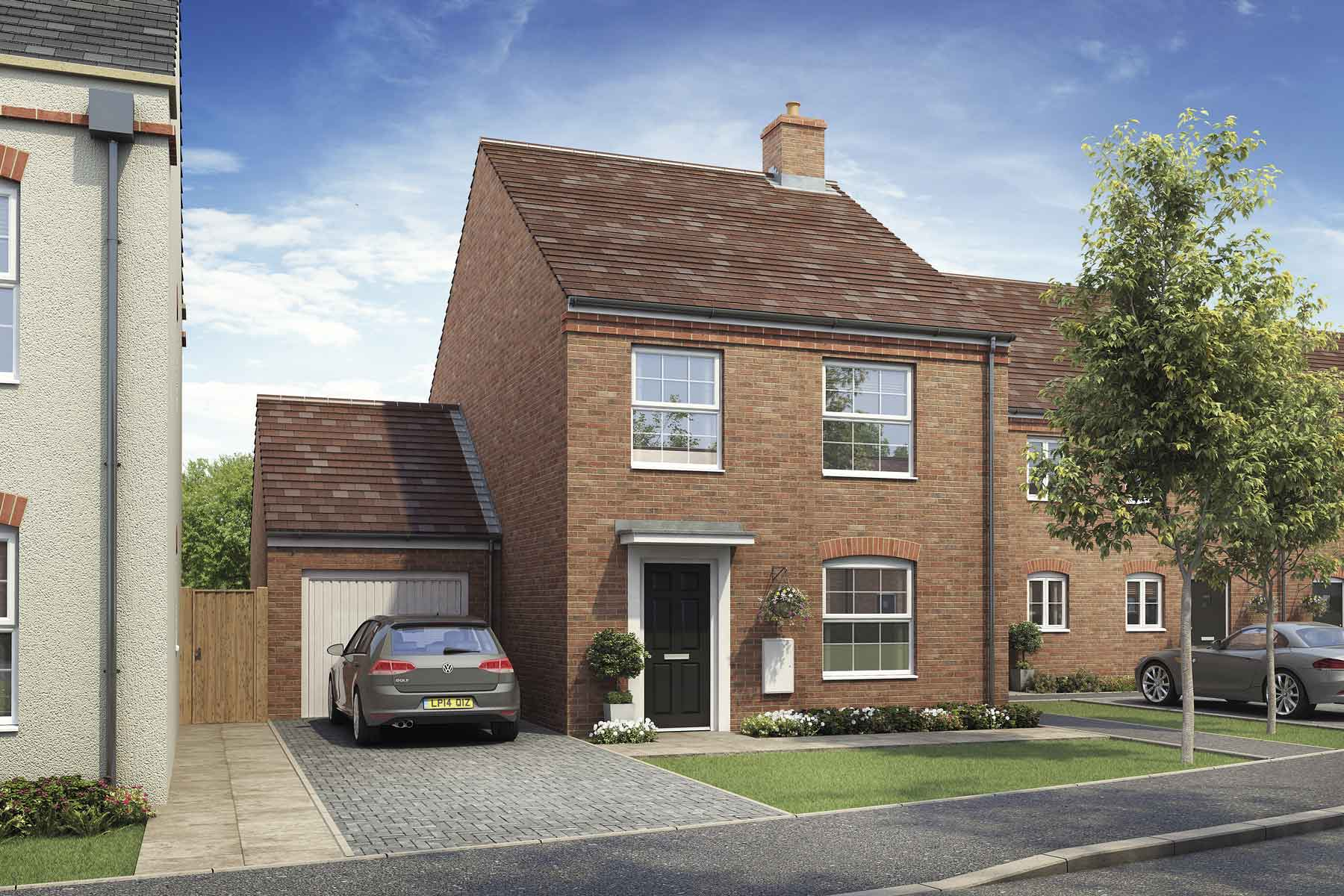 Artist's impression of a typical Kempsford home