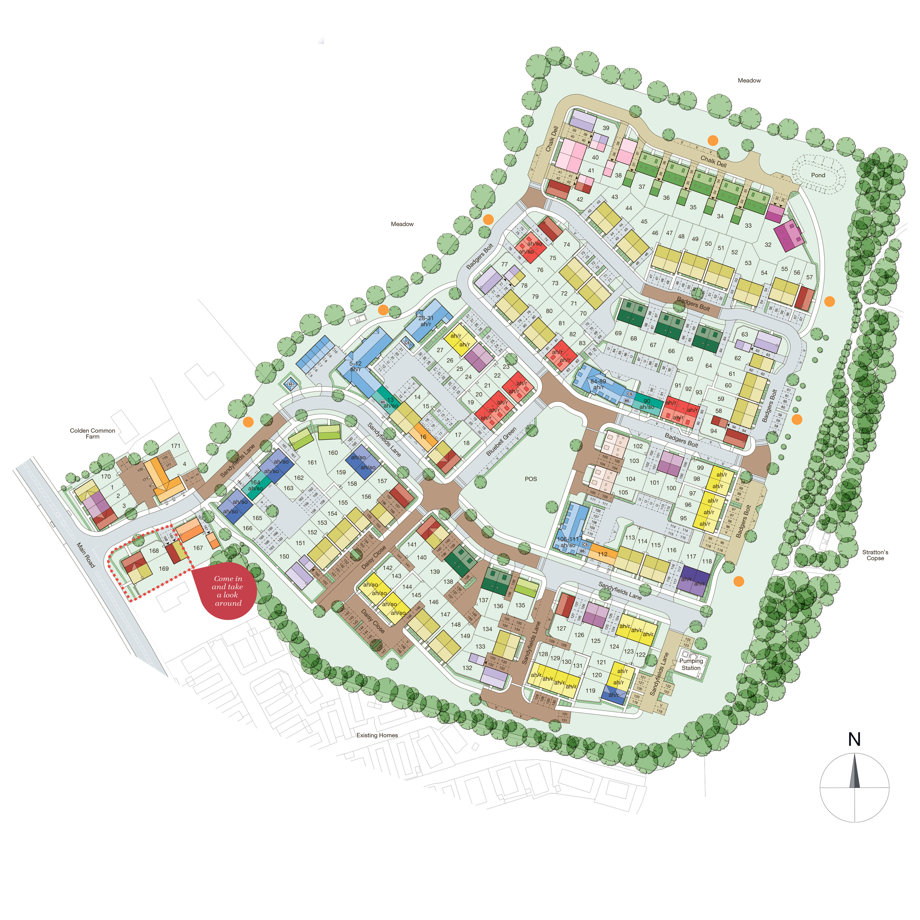 Kings-Gate-Colden-Common_Site_Plan