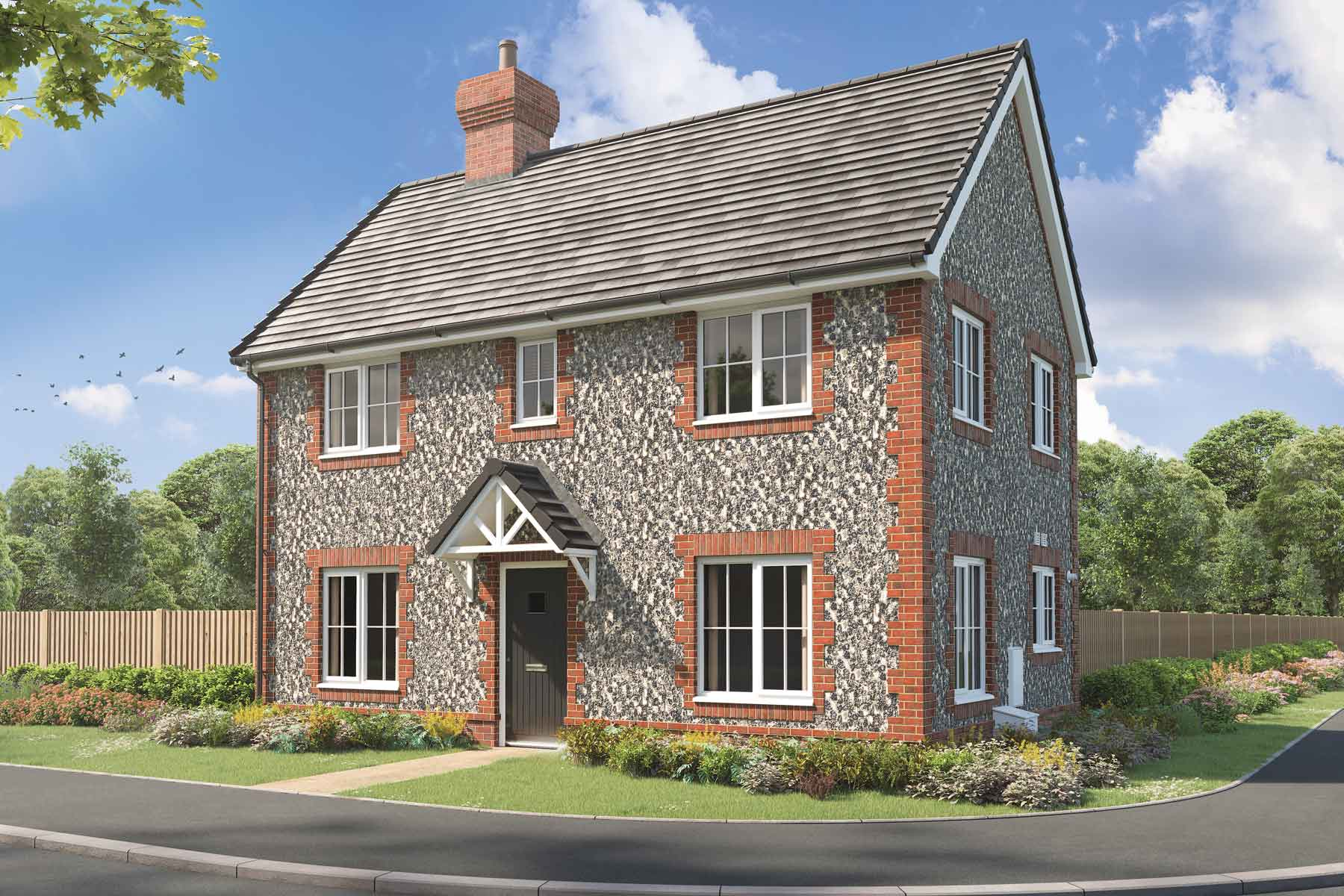 Artist's impression of a typical Easedale home