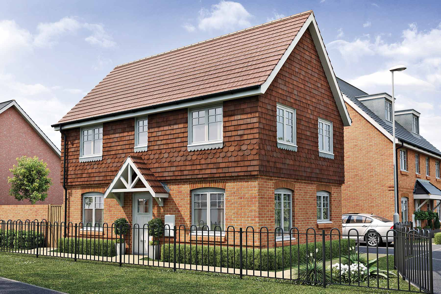 Artists impression of typical Easedale home