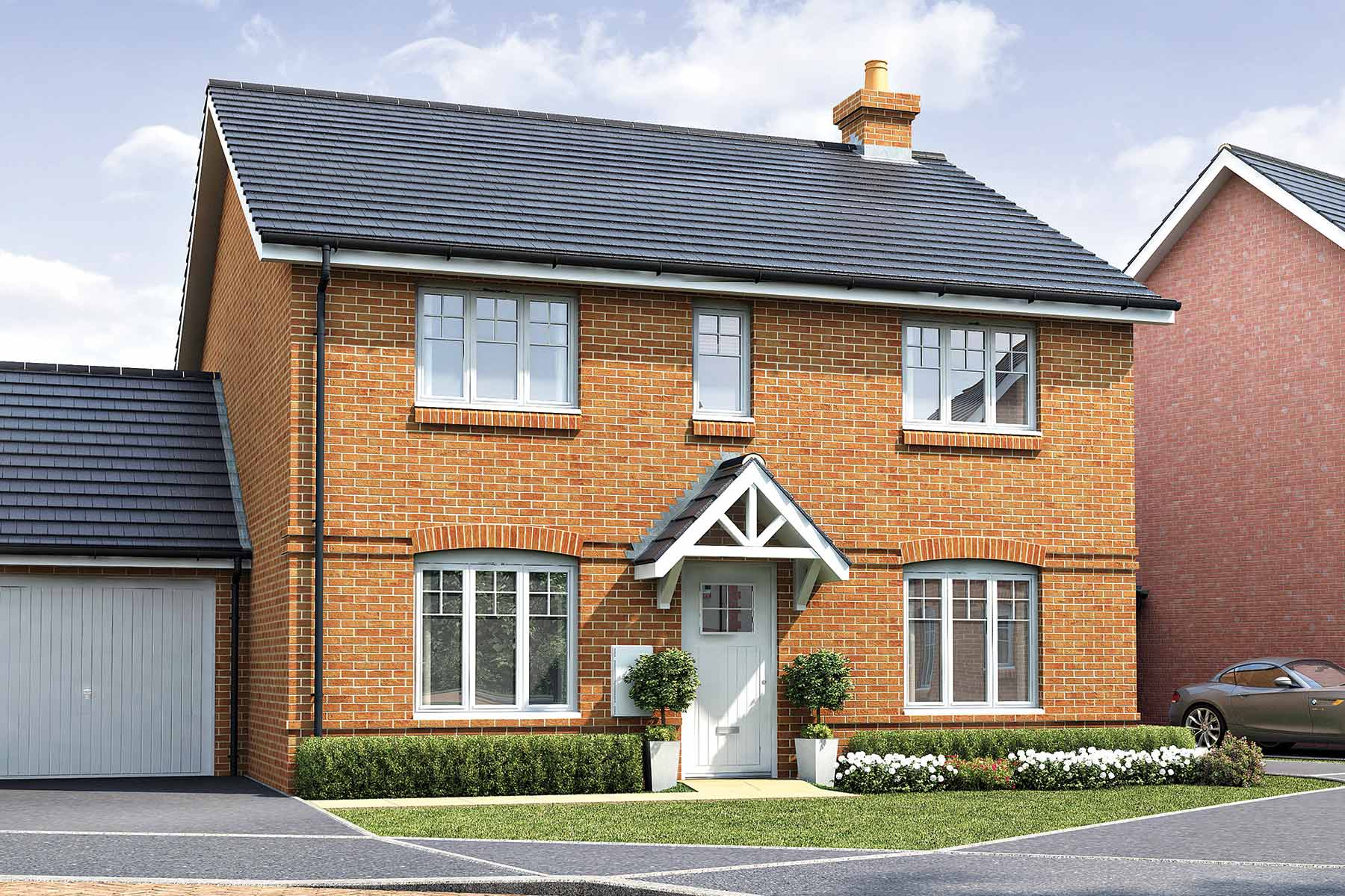 Artists impression of typical Thornford home