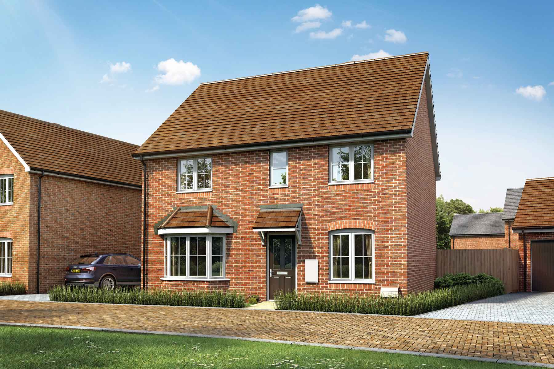Artist's impression of a typical Manford home