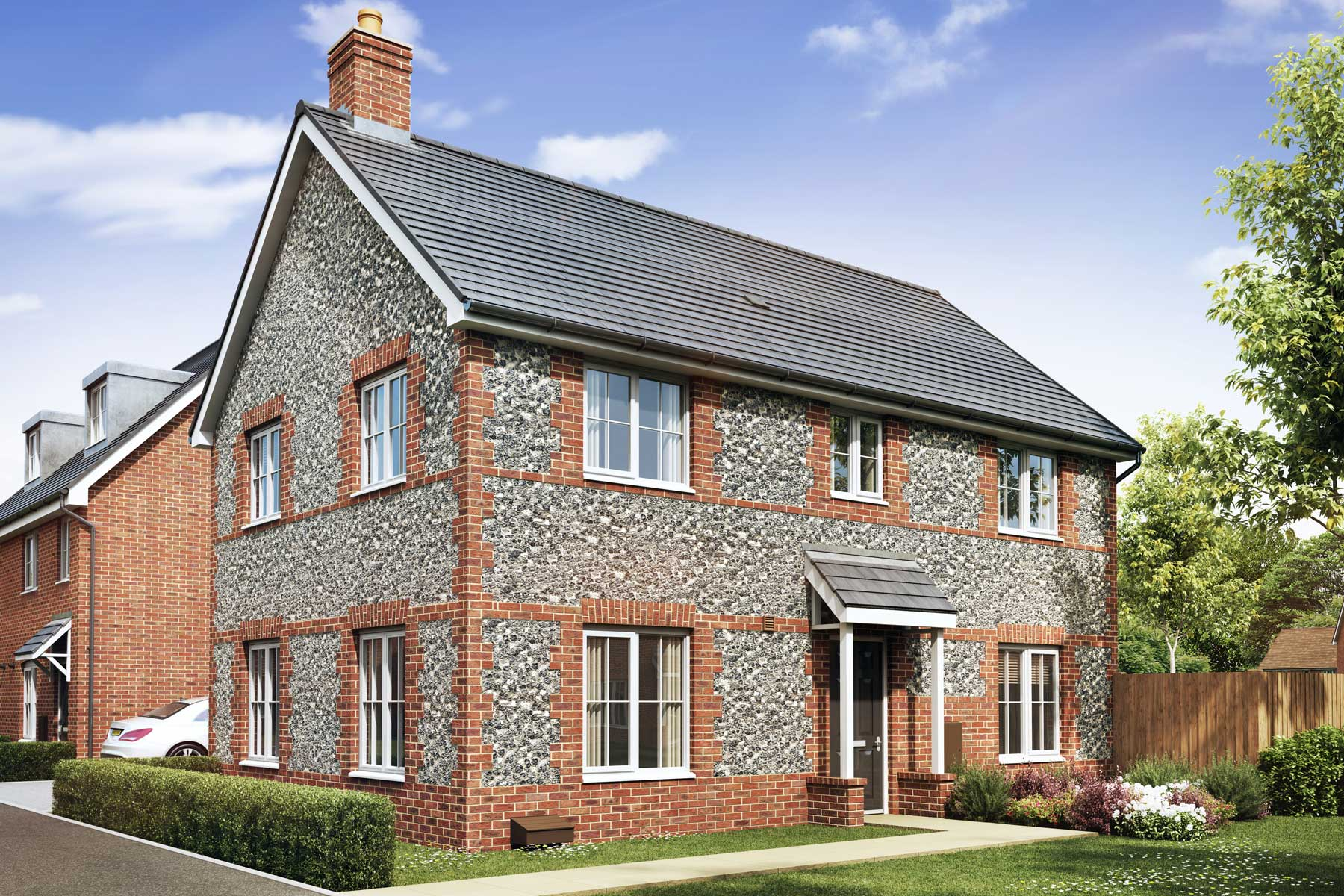 Artist's impression of a typical Kentdale home