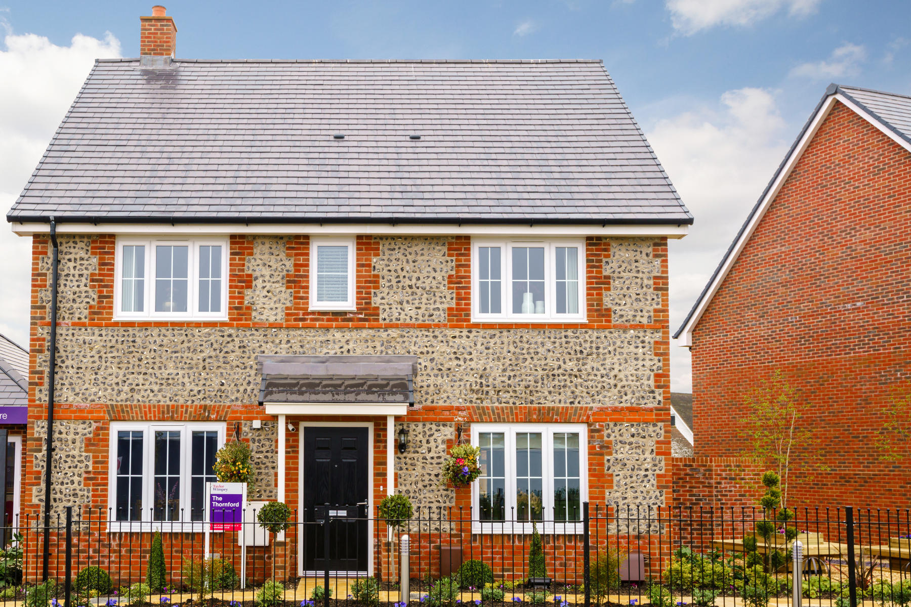 Typical Thornford home at The Hedgerows - image of show home