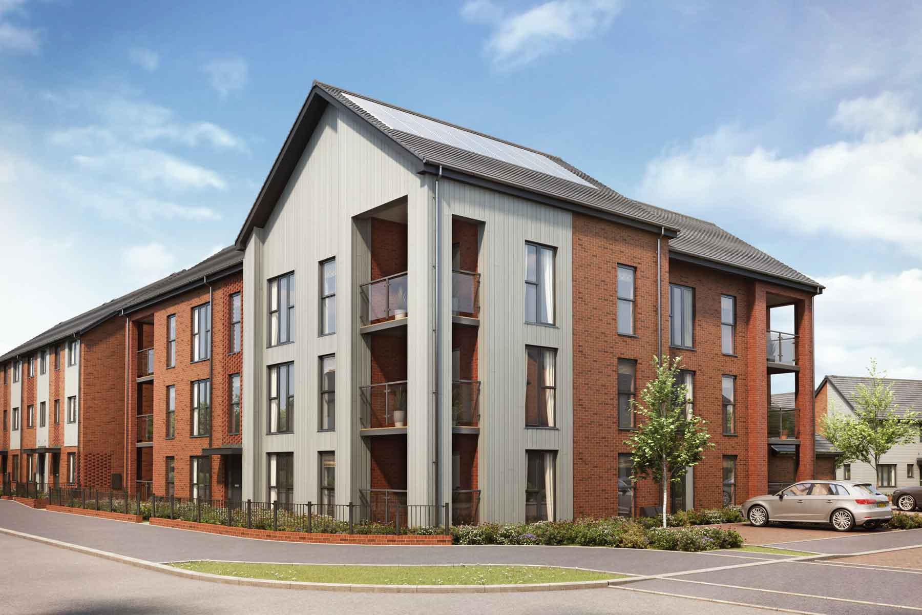 Artist's impression of Hawfinch House