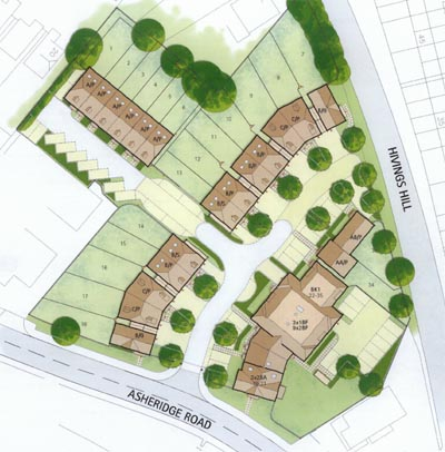 Asheridge Road masterplan