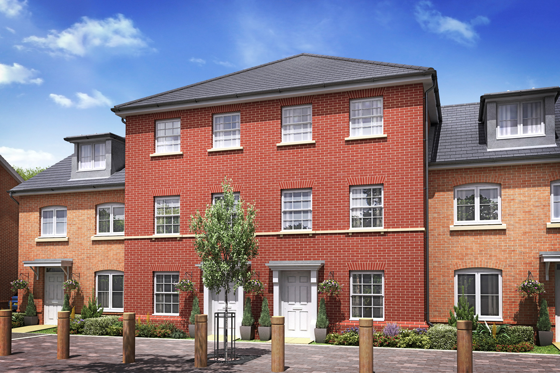 Artists Impression of The Pine, Loddon Park