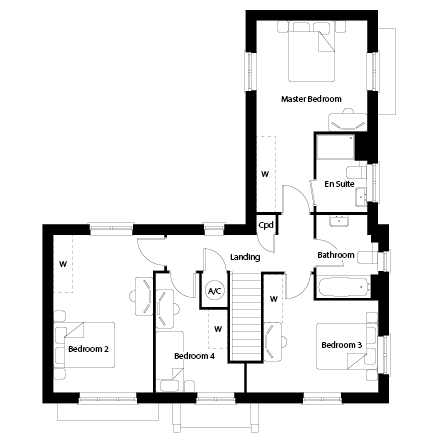 TWWL_Pine Trees_PH3_Floorplans_The Oakford_FF_WEB