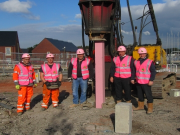 Taylor Wimpey - Summer Rise - Roger Bullivant Limited Pink Piling WEB