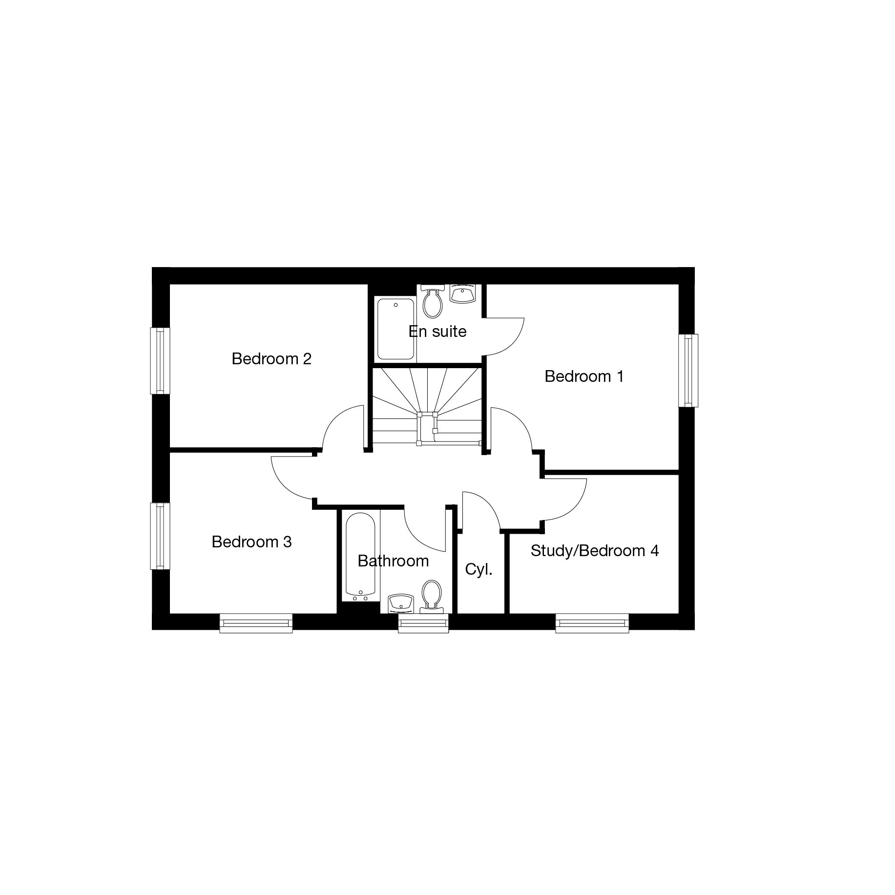 2D-Floorplan-The-Kentdale-FF-Bowbrook-Brochure