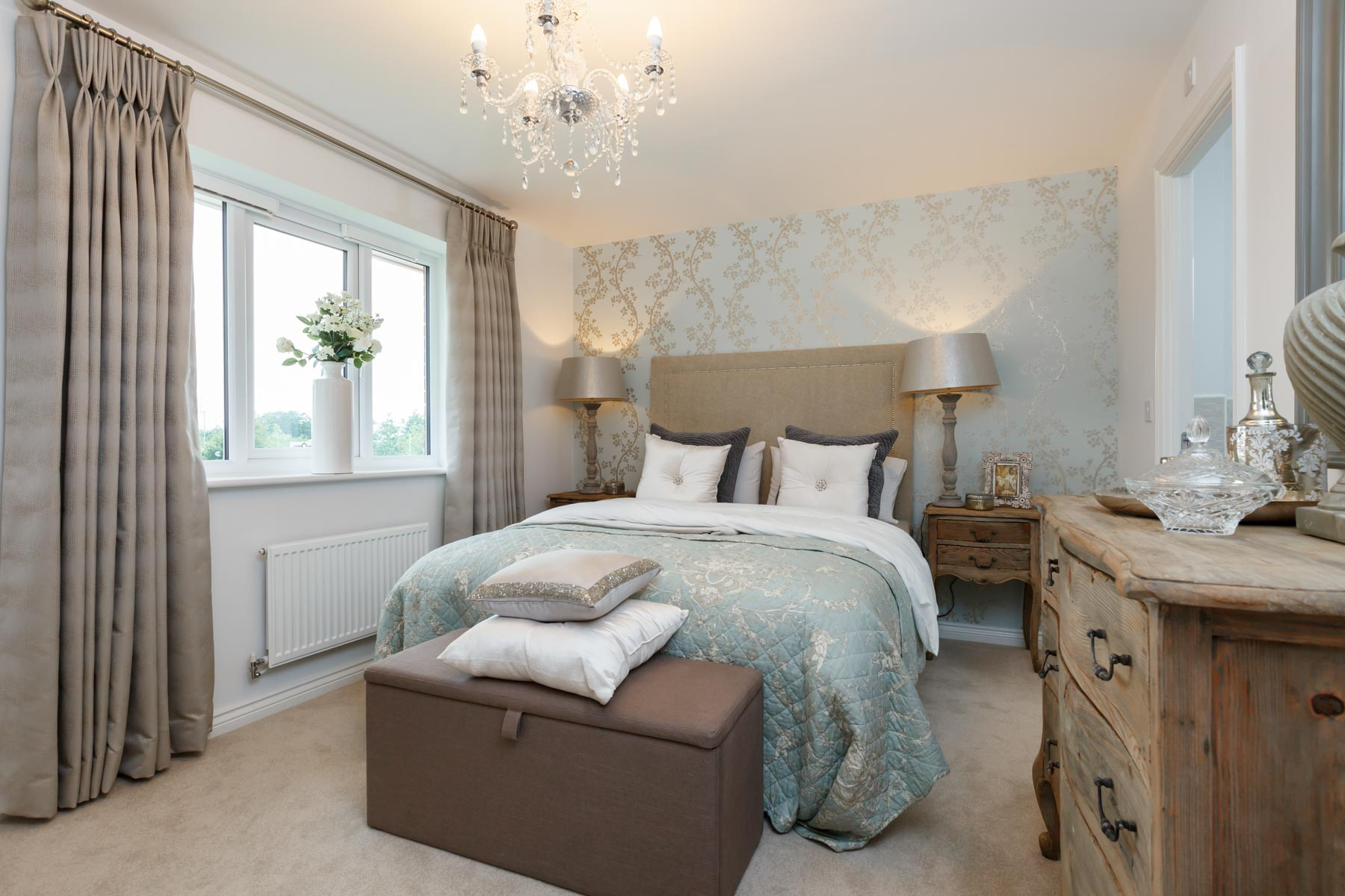 Burntwood Manor - Downham - main bedroom