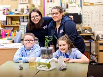TWWS Ignite imaginations of next generations at Caledonia School
