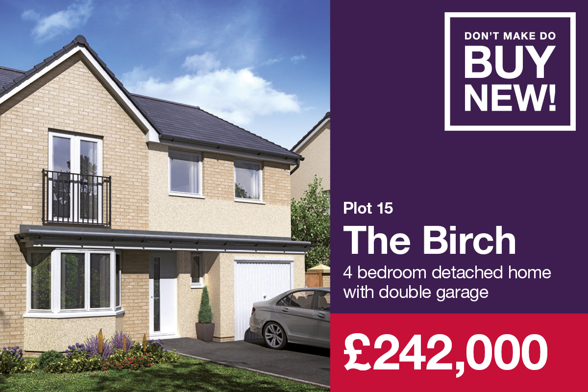 Cavalry Park Plot 15 The Birch 242000