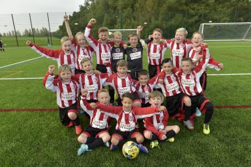 Mosborough U9s receives support from homebuilder
