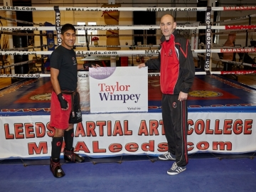 TWY - Charity Kickboxing Contest Receives Cash Boost - WEB