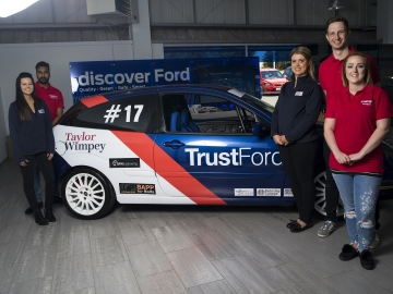 WEB  In a bid to raise money for Cancer Research UK the dealership has bought and converted an every