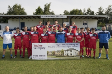 WEB  Leading Doncaster football club Rossington Main FC has scored a new sponsor in leading homebuil