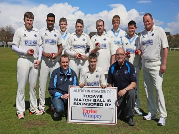 WEB - Allerton Bywater CC whole team(2)