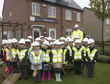 WEB Pupils from White Laith Primary had a lovely time visiting Taylor Wimpey