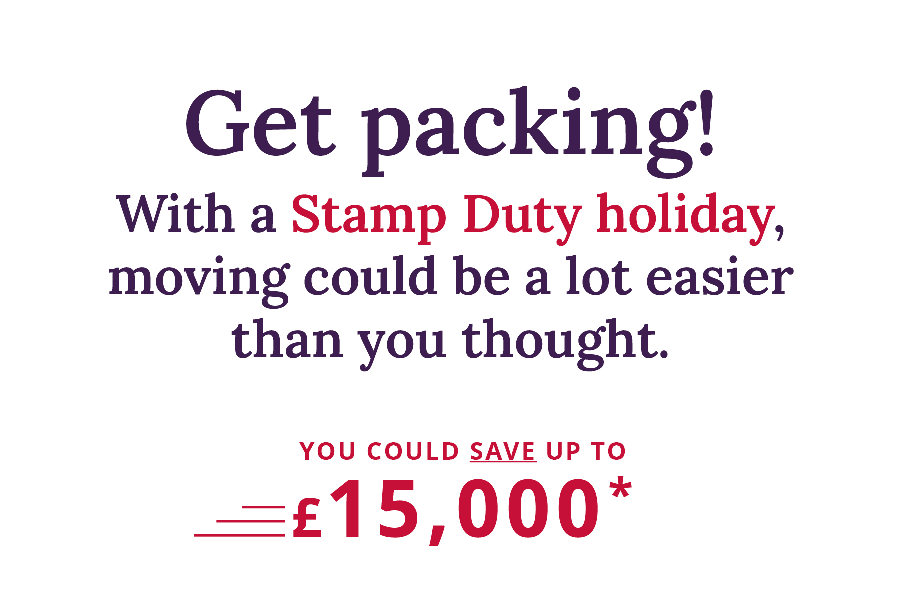Stamp duty holiday - TW Carousel graphic