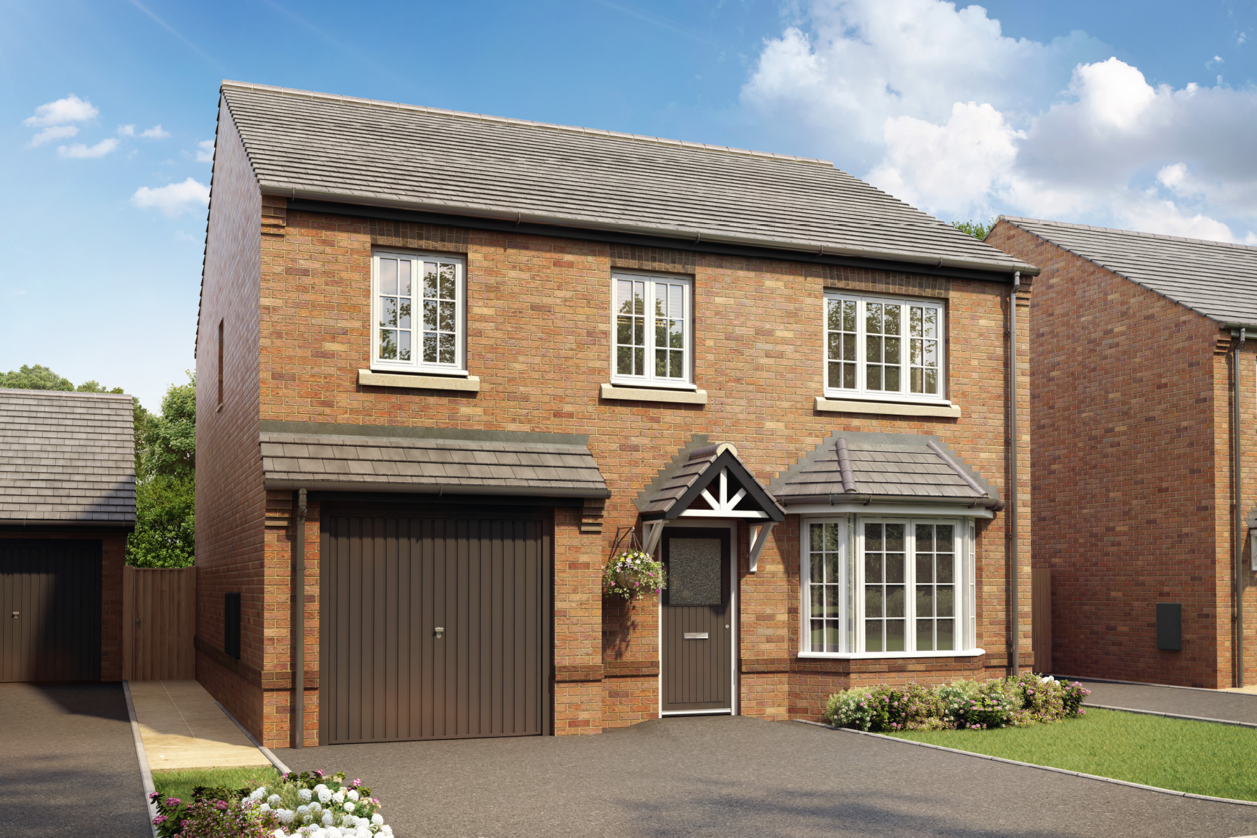 New TWY - Foxley Meadows - CGI - Downham