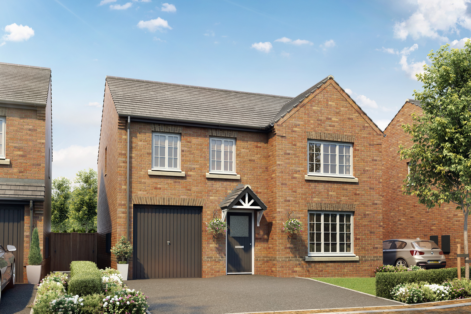 New TWY - Foxley Meadows - CGI - Eynsham