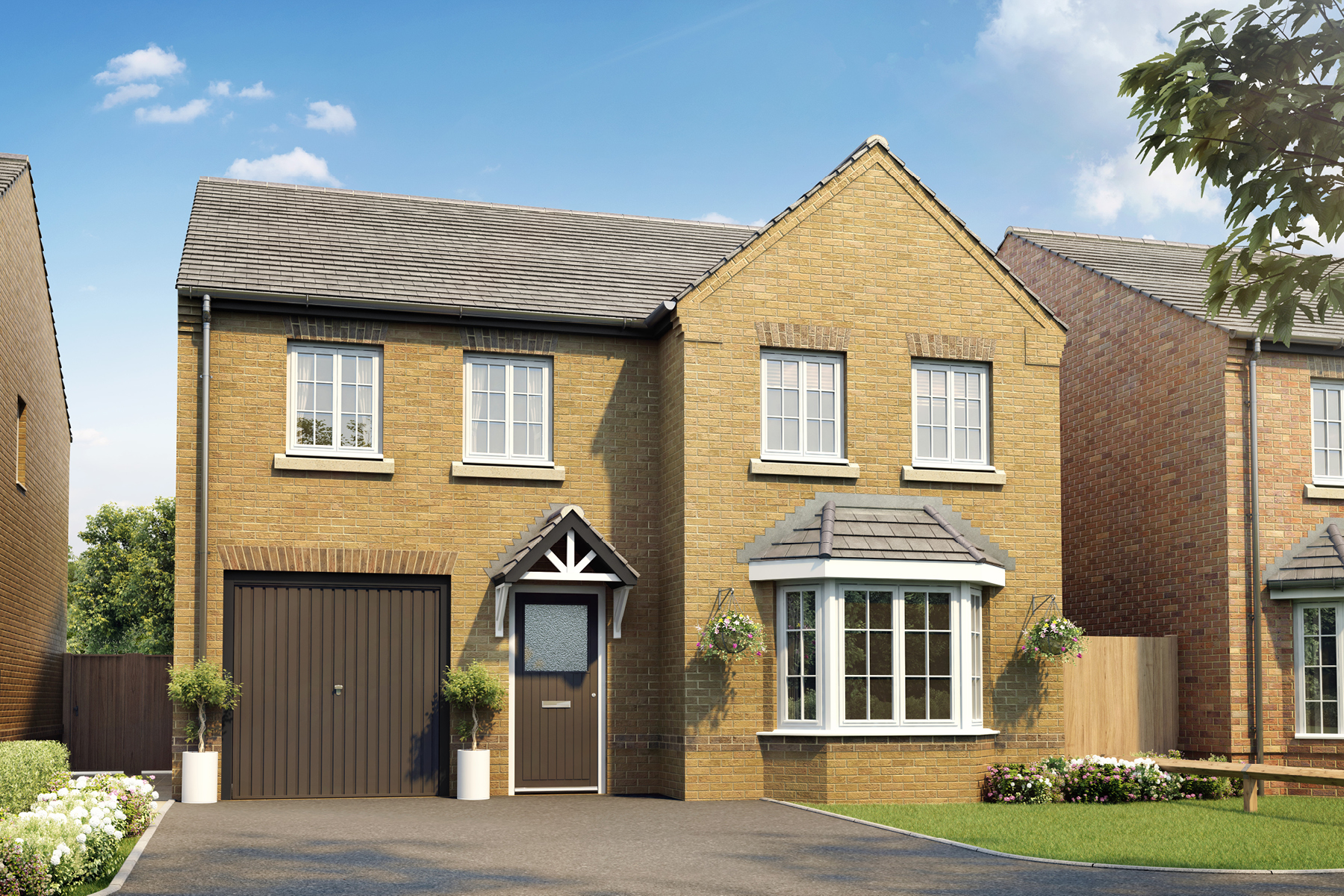 New TWY - Foxley Meadows - CGI - Haddenham