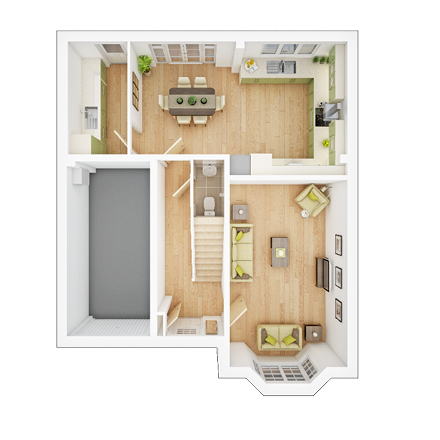 TWY - Foxley Meadows - Floorplans - Haddenham-GF