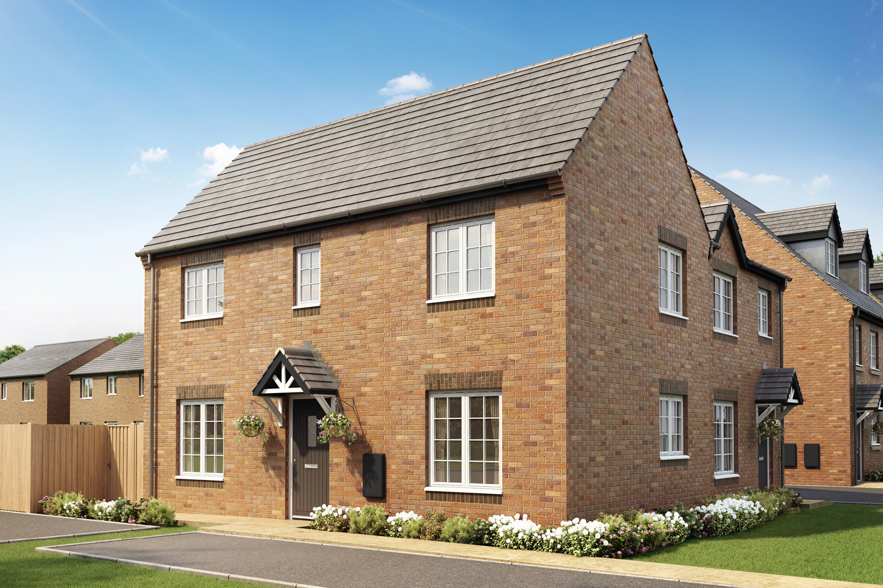 New TWY - Foxley Meadows - CGI - Milldale