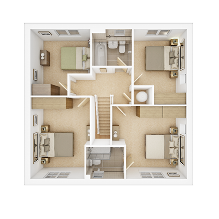TWY - Foxley Meadows - Floorplans - Shelford-FF
