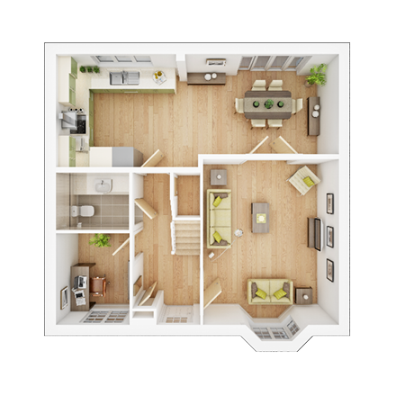 TWY - Foxley Meadows - Floorplans - Shelford-GF
