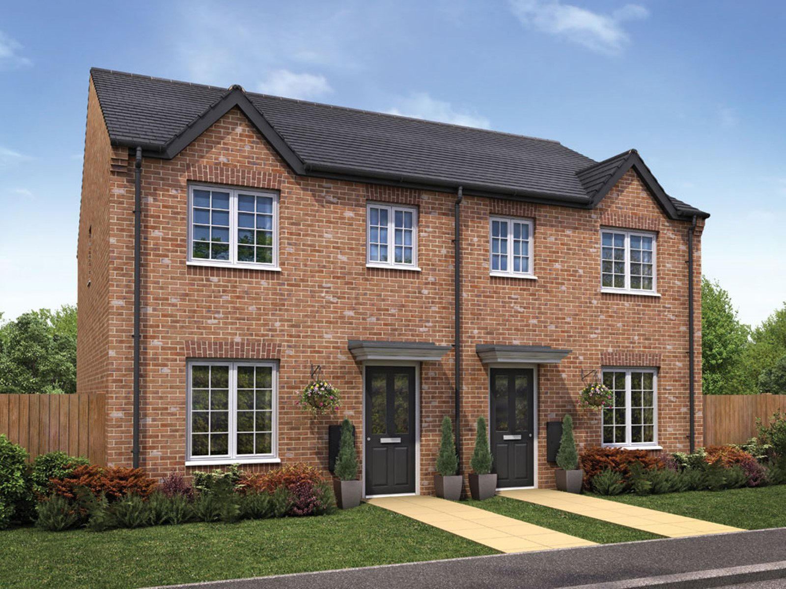 Taylor Wimpey - Pipers Green - The Gosford - 3 bed new home