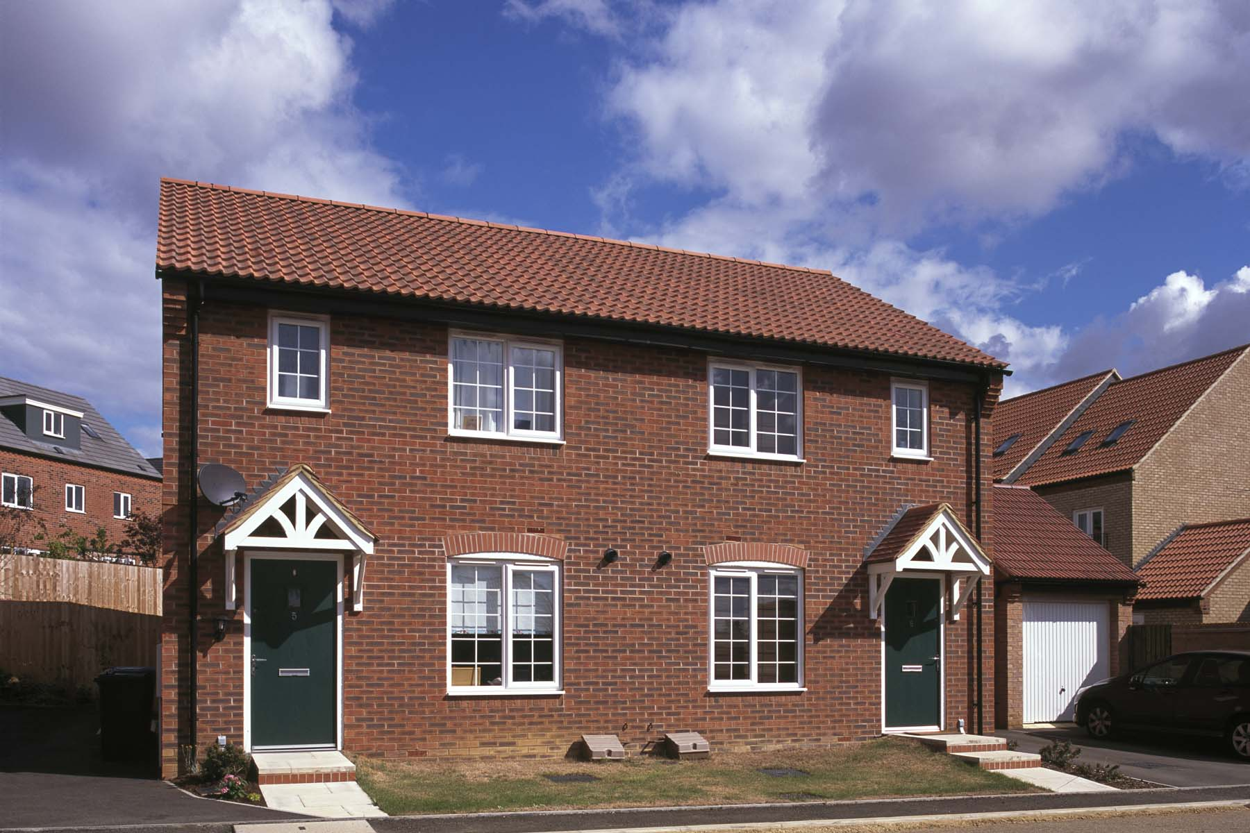 Taylor Wimpey semidetached home