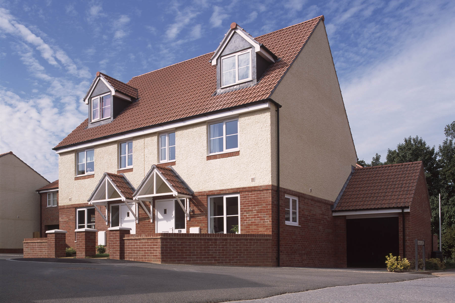 Taylor Wimpey semidetached house
