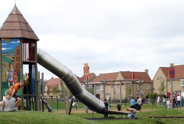 Cambourne children's slide