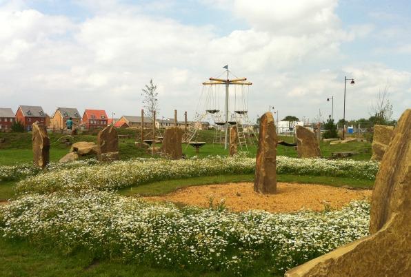 Cambourne themed playground