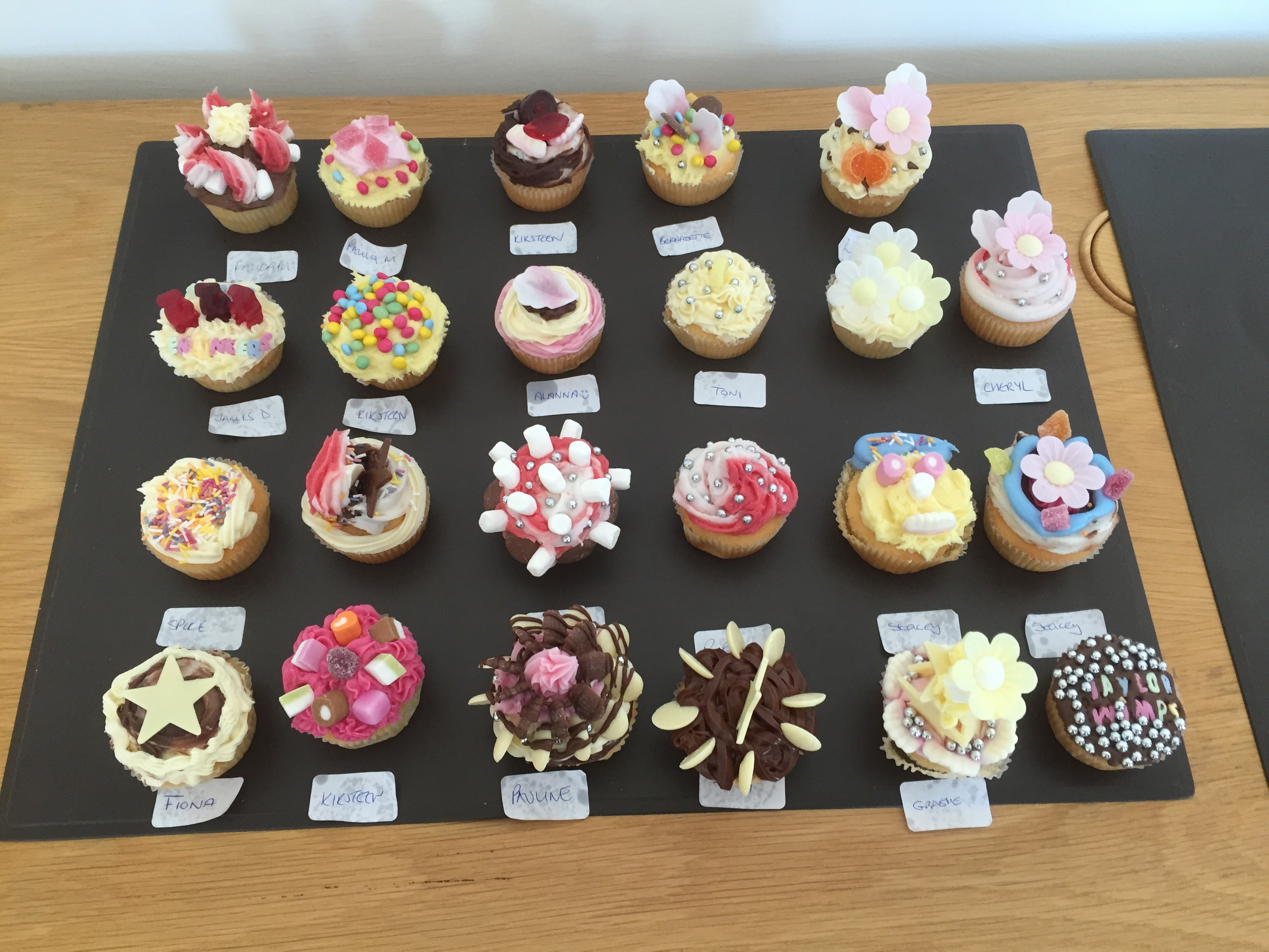 Taylor Wimpey Macmillan Coffee Morning cake competition