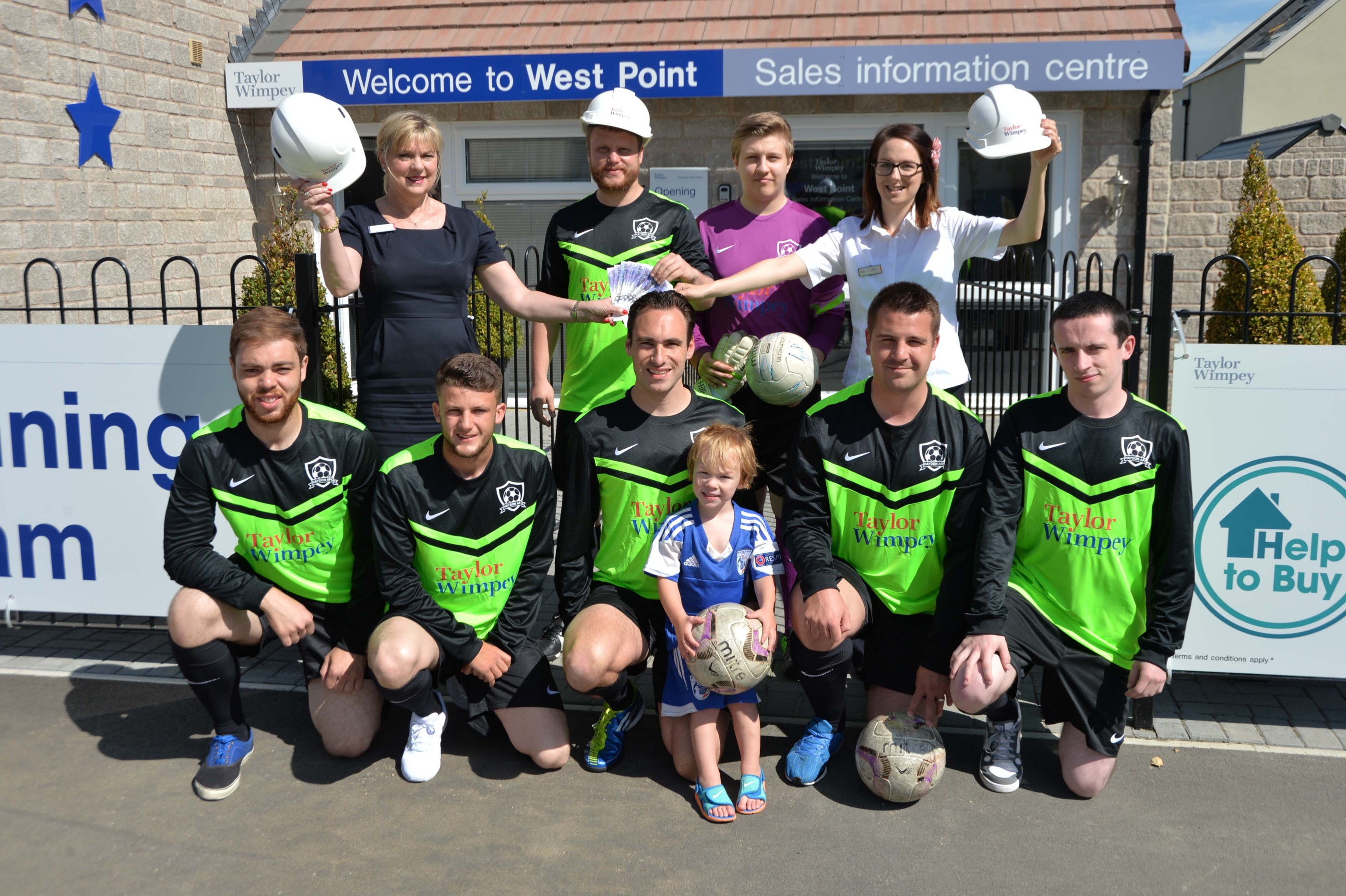 Taylor Wimpey - West Point - Heydon FC Sposnorship (2)