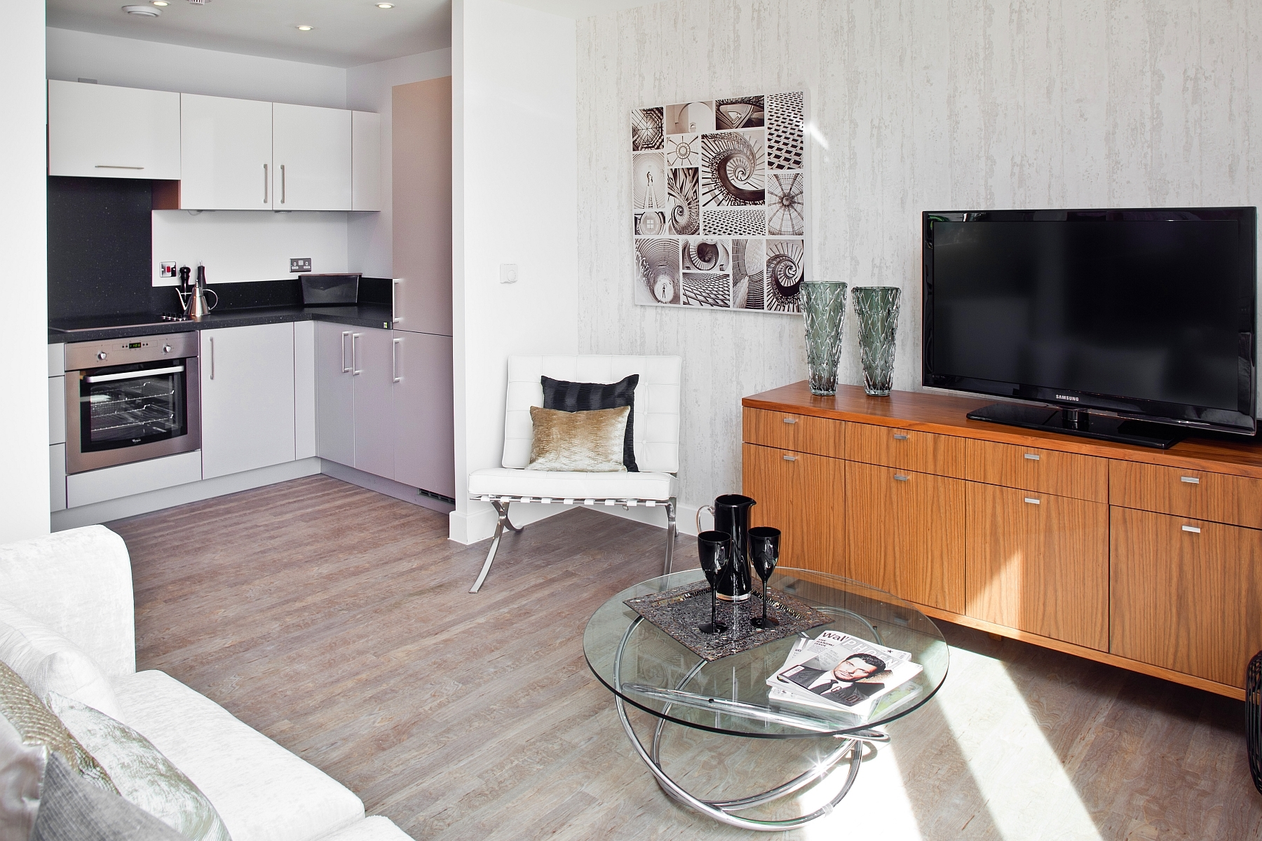 1bed - living area