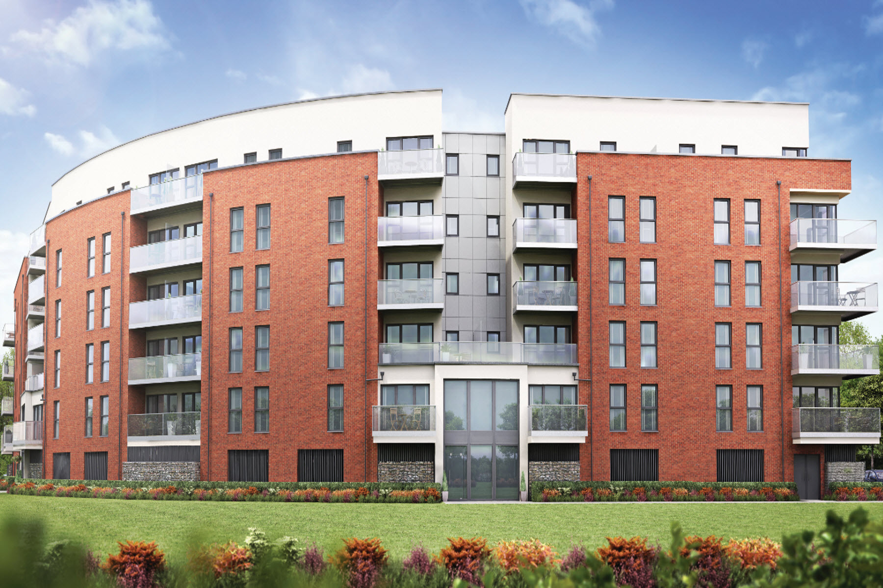 Artist impression of Brunel House, Academy Central